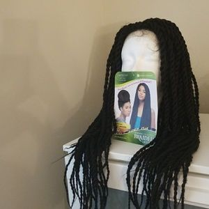 Senegalese braided wig